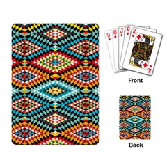 African Tribal Patterns Playing Card