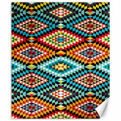 African Tribal Patterns Canvas 8  X 10