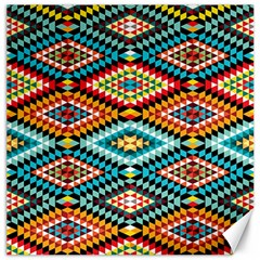African Tribal Patterns Canvas 12  X 12