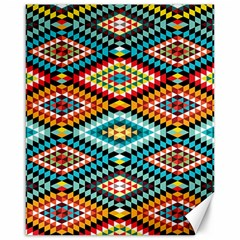 African Tribal Patterns Canvas 16  x 20