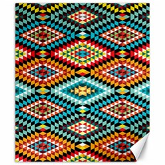 African Tribal Patterns Canvas 20  X 24