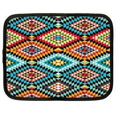 African Tribal Patterns Netbook Case (large)