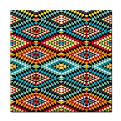 African Tribal Patterns Face Towel