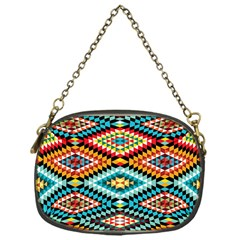 African Tribal Patterns Chain Purses (one Side)