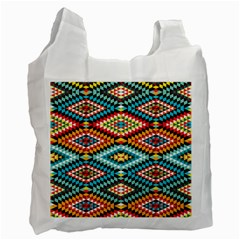 African Tribal Patterns Recycle Bag (two Side)