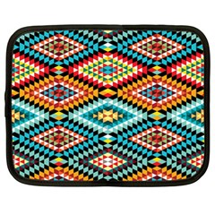 African Tribal Patterns Netbook Case (xl)