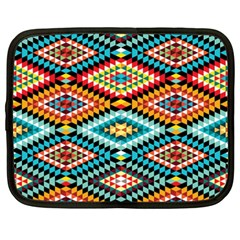 African Tribal Patterns Netbook Case (xxl)