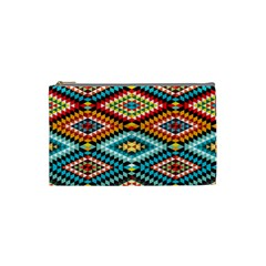 African Tribal Patterns Cosmetic Bag (small)