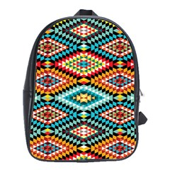 African Tribal Patterns School Bags(Large)