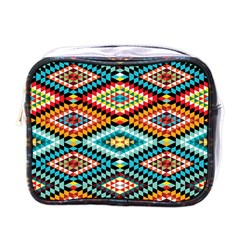 African Tribal Patterns Mini Toiletries Bags