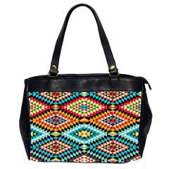 African Tribal Patterns Office Handbags (2 Sides)