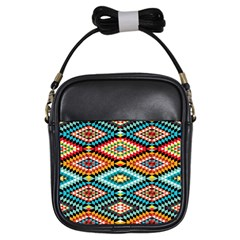 African Tribal Patterns Girls Sling Bags