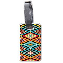 African Tribal Patterns Luggage Tags (one Side)