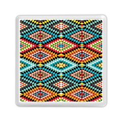 African Tribal Patterns Memory Card Reader (square)