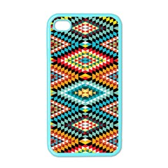 African Tribal Patterns Apple iPhone 4 Case (Color)