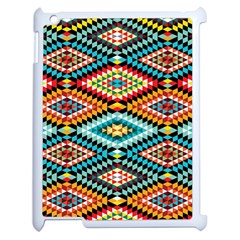 African Tribal Patterns Apple Ipad 2 Case (white)