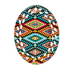 African Tribal Patterns Ornament (oval Filigree)