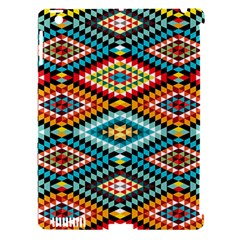 African Tribal Patterns Apple iPad 3/4 Hardshell Case (Compatible with Smart Cover)