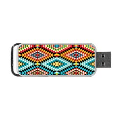 African Tribal Patterns Portable Usb Flash (two Sides)