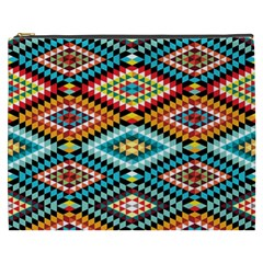 African Tribal Patterns Cosmetic Bag (xxxl)