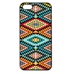 African Tribal Patterns Apple Iphone 5 Seamless Case (black)