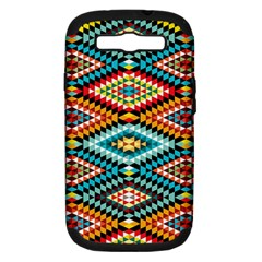 African Tribal Patterns Samsung Galaxy S Iii Hardshell Case (pc+silicone)