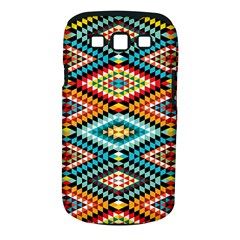 African Tribal Patterns Samsung Galaxy S Iii Classic Hardshell Case (pc+silicone)