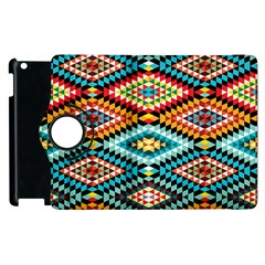 African Tribal Patterns Apple iPad 3/4 Flip 360 Case