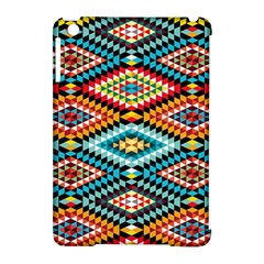 African Tribal Patterns Apple Ipad Mini Hardshell Case (compatible With Smart Cover)