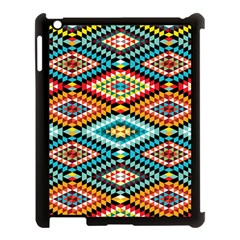 African Tribal Patterns Apple Ipad 3/4 Case (black)