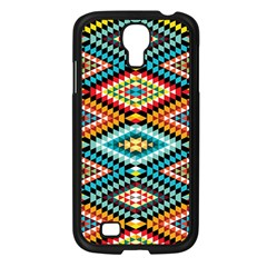 African Tribal Patterns Samsung Galaxy S4 I9500/ I9505 Case (black)