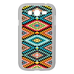 African Tribal Patterns Samsung Galaxy Grand DUOS I9082 Case (White)