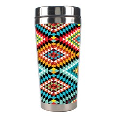 African Tribal Patterns Stainless Steel Travel Tumblers