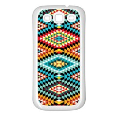 African Tribal Patterns Samsung Galaxy S3 Back Case (white)