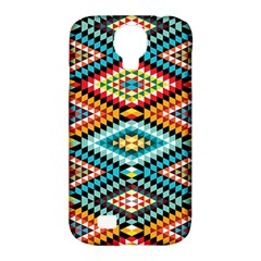 African Tribal Patterns Samsung Galaxy S4 Classic Hardshell Case (PC+Silicone)