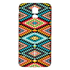 African Tribal Patterns Samsung Galaxy S5 Back Case (white)