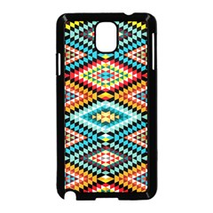 African Tribal Patterns Samsung Galaxy Note 3 Neo Hardshell Case (Black)