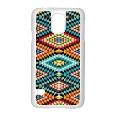 African Tribal Patterns Samsung Galaxy S5 Case (white)