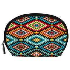 African Tribal Patterns Accessory Pouches (Large)