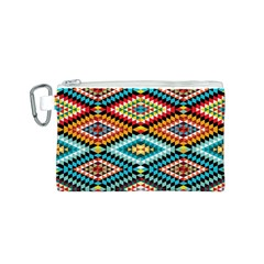 African Tribal Patterns Canvas Cosmetic Bag (s)