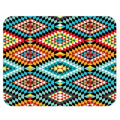African Tribal Patterns Double Sided Flano Blanket (Medium)