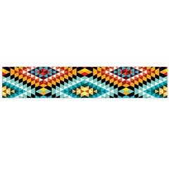African Tribal Patterns Flano Scarf (large)