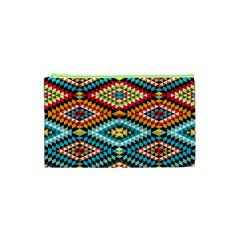 African Tribal Patterns Cosmetic Bag (xs)