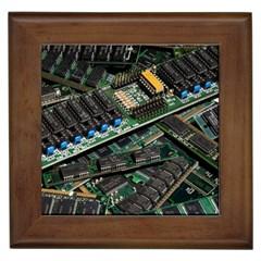 Computer Ram Tech Framed Tiles