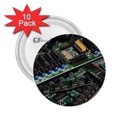 Computer Ram Tech 2 25  Buttons (10 Pack)