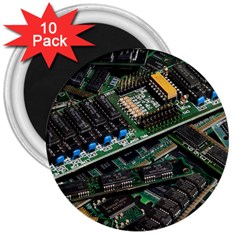 Computer Ram Tech 3  Magnets (10 Pack)