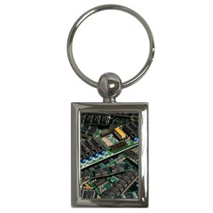 Computer Ram Tech Key Chains (Rectangle)