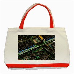 Computer Ram Tech Classic Tote Bag (red)
