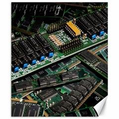 Computer Ram Tech Canvas 8  X 10