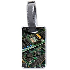 Computer Ram Tech Luggage Tags (one Side)